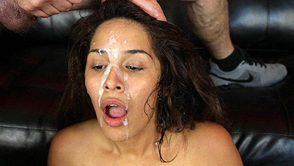 American Latin Beauties Getting Face Fucked